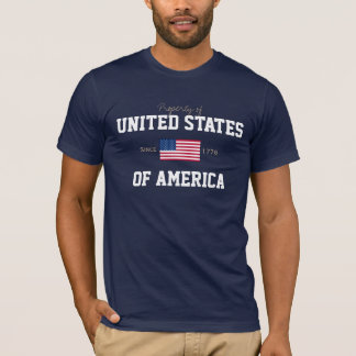 Property of United States of America Shirt
