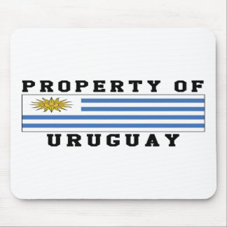 Property Of Uruguay Mouse Pad
