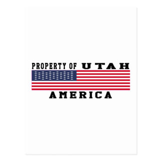 Property Of Utah Postcard
