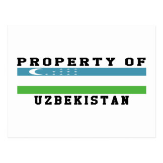 Property Of Uzbekistan Post Cards