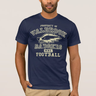 Property of Valbrook Badgers T-Shirt