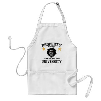 Property Of Vampire University Adult Apron
