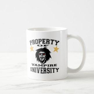 Property Of Vampire University Coffee Mug