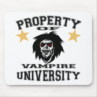 Property Of Vampire University Mouse Pad