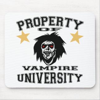 Property Of Vampire University Mouse Pad