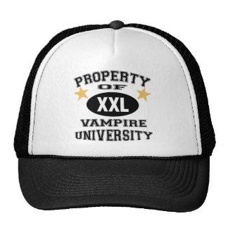 Property Of Vampire University Trucker Hats