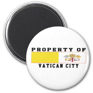 Property Of Vatican City 6 Cm Round Magnet