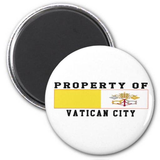Property Of Vatican City Magnet