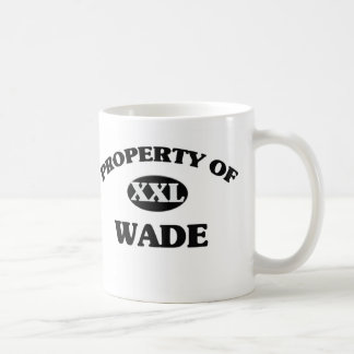 Property of WADE Coffee Mugs