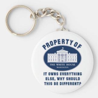 Property of White House Keychain