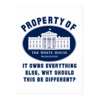 Property of White House Postcard