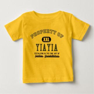 Property of YiaYia Baby T-Shirt