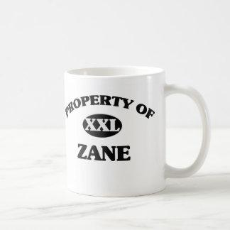 Property of ZANE Coffee Mug