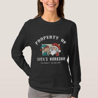 Property Santa's Workshop Dark Sweatshirt