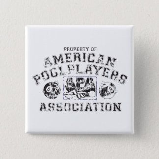 Propery of APA - Distressed 15 Cm Square Badge