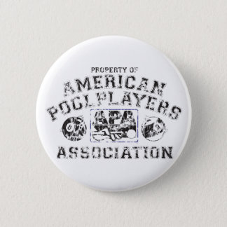 Propery of APA - Distressed 6 Cm Round Badge