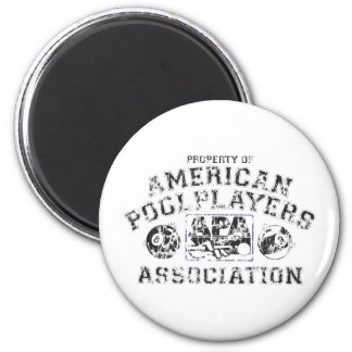 Propery of APA - Distressed 6 Cm Round Magnet