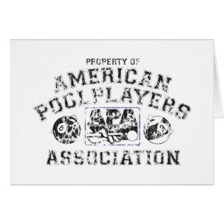 Propery of APA - Distressed Card