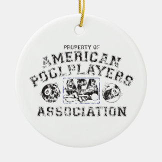 Propery of APA - Distressed Christmas Ornament