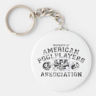 Propery of APA - Distressed Key Ring