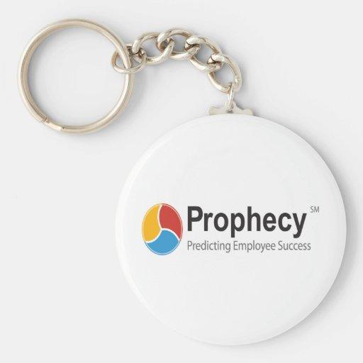 Prophecy logo key chain