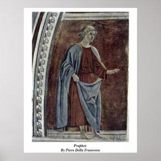 Prophet. By Piero Della Francesca Print