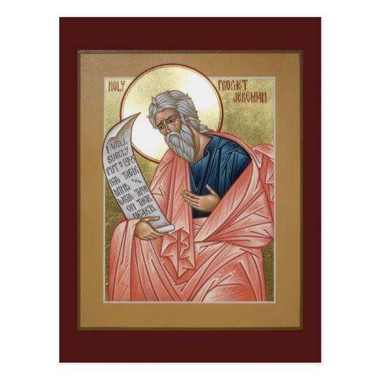 Prophet Jeremiah Prayer Card