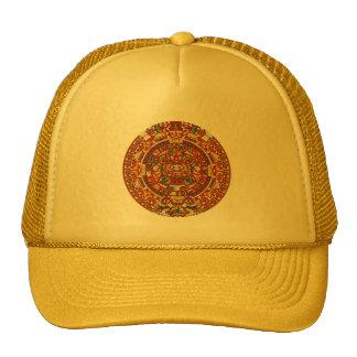 Prophetic Mayan Maya Aztec Symbol Mesh Hats