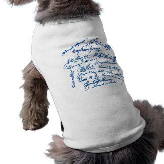 Prophets Autographs Sleeveless Dog Shirt