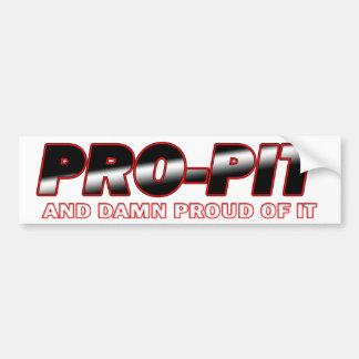 propit copy bumper sticker