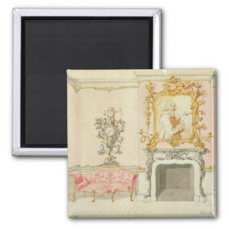 Proposal for a drawing room interior, 1755-60 (w/c square magnet