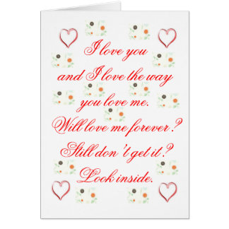 Proposal Greeting Card