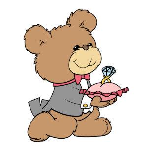 7b5c8225804 proposal or ring bearer teddy bear design card