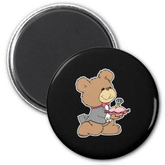 proposal or ring bearer teddy bear design magnets