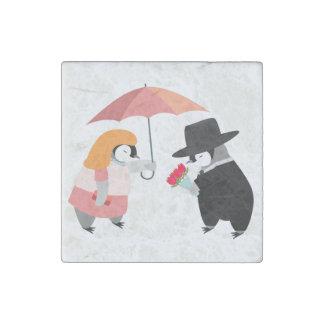 Propose Penguin Stone Magnet