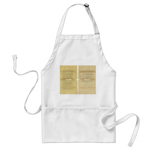 Proposed Amendments to the U.S. Constitution 1789 Aprons