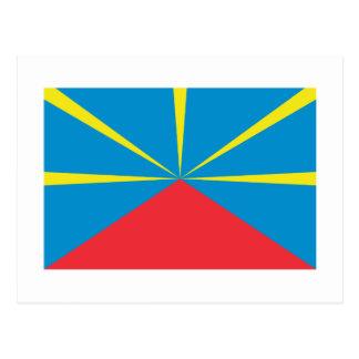 Proposed Reunion Island Flag Postcard
