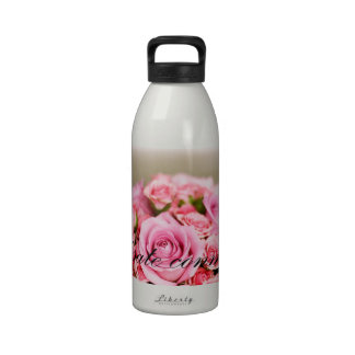proposición de matrimonio romántica botellas de agua reutilizables