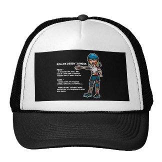Pros and Cons Roller Derby Zombie Cap