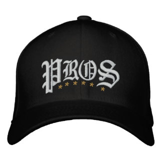 Pros Golf Embroidered Hat