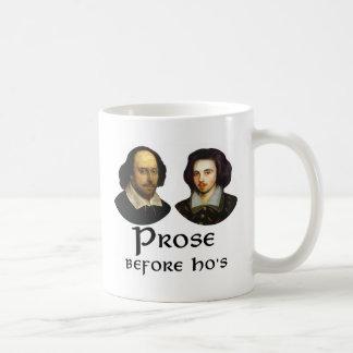 Prose Before Ho's Basic White Mug