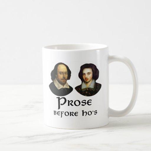 Prose Before Ho's Coffee Mugs