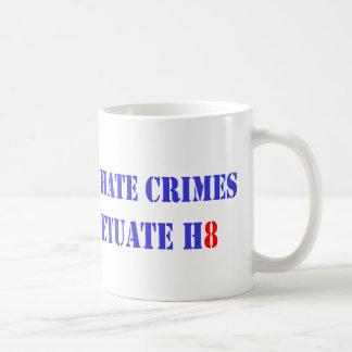 Prosecute Hate, H8 Coffee Mug