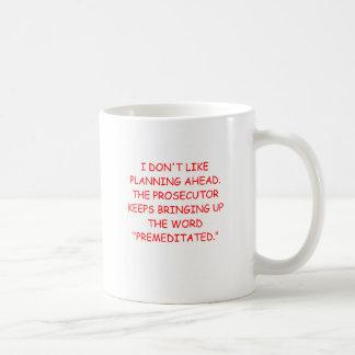prosecuter coffee mug