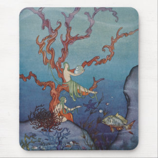 Proserpina and the Sea Nymphs Mouse Pad