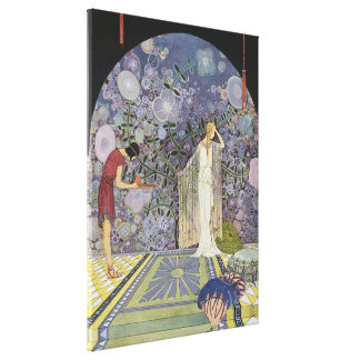 Proserpina in Pluto's Palace Gallery Wrapped Canvas