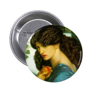 Proserpine Button by Dante Gabriel Rossetti