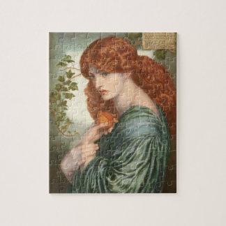 Proserpine by Dante Gabriel Rossetti Jigsaw Puzzle
