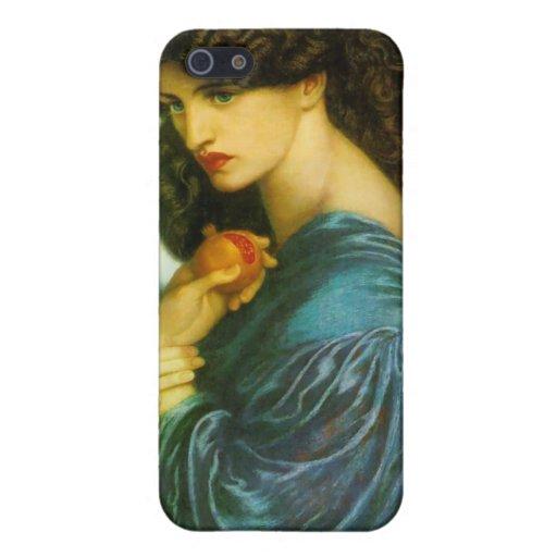 Proserpine - Dante Gabriel Rossetti Cover For iPhone 5