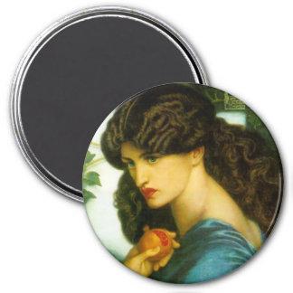 Proserpine Magnet by Dante Gabriel Rossetti